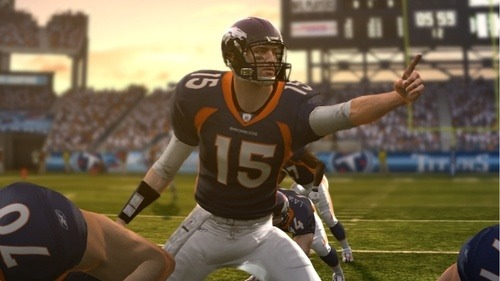 Tim Tebow In The Running For Madden '12 Cover