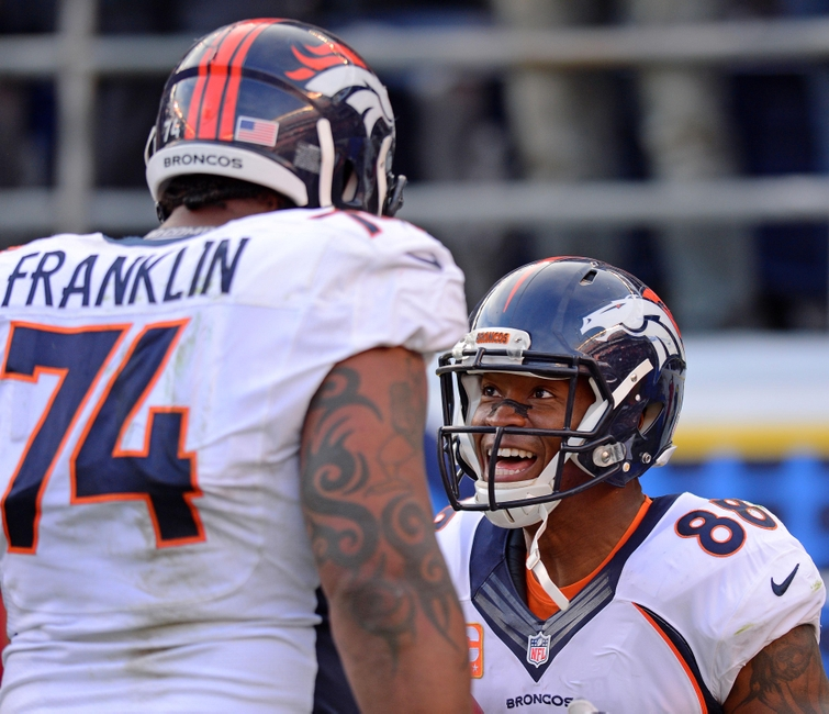 San Diego Chargers At Denver Broncos: Orlando Franklin Crucial To Broncos Offseason Puzzle