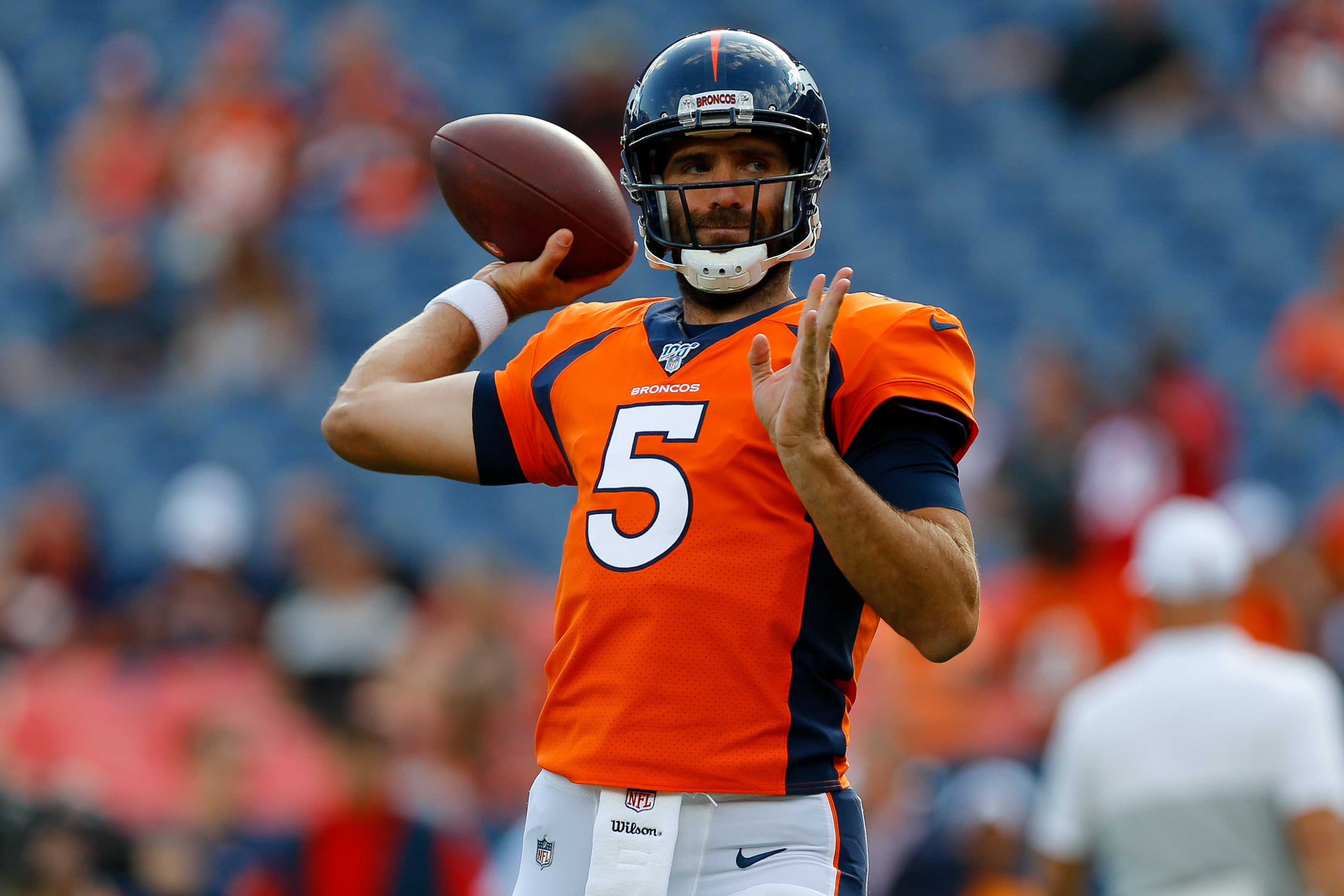 Joe Flacco contract restructure could help Broncos in long run